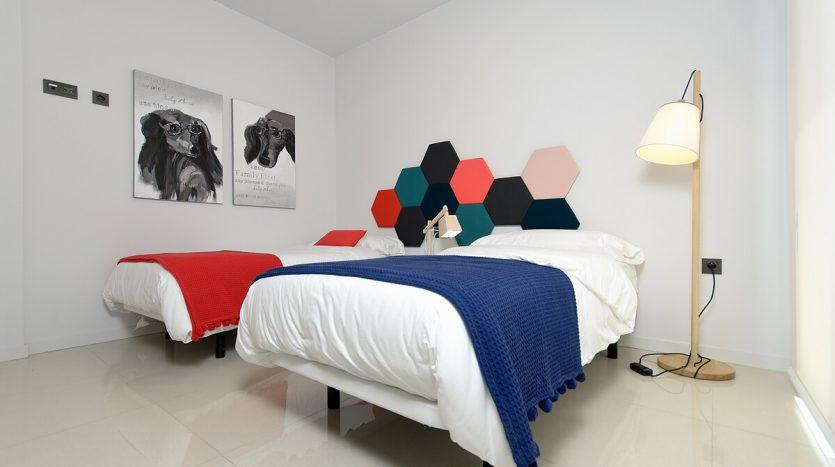 Villas Urbanizacion Lomas de CaboRoig La Cuerda -Dormitorio