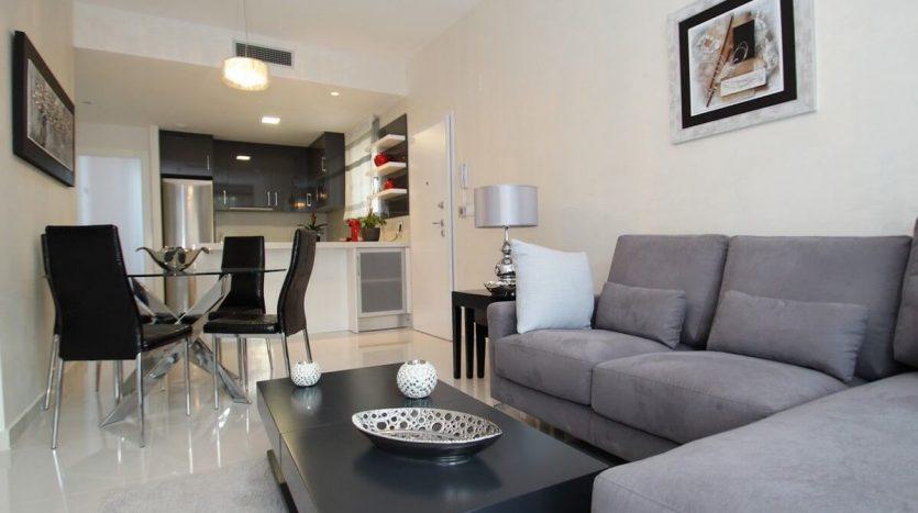 Salon - Apartamentos 2 Dormitorios en Guardamar