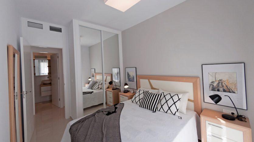 Dormitorio Apartamentos de Lujo en La Costa Blanca