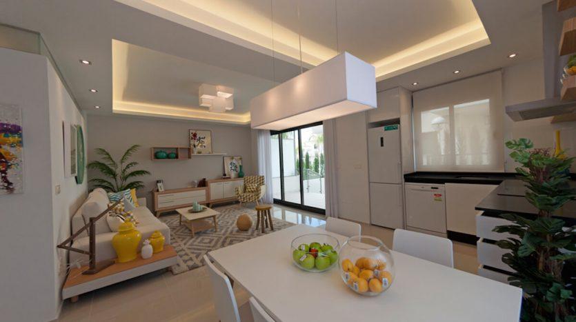 Cocina Apartamentos de Lujo en La Costa Blanca