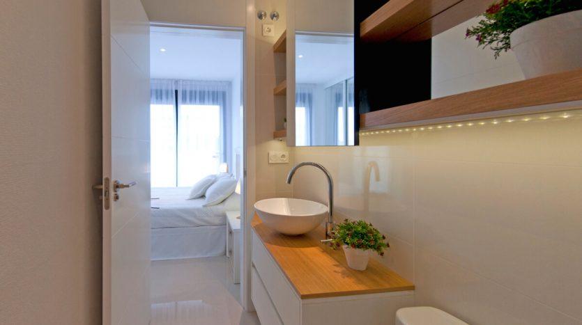Baño Apartamentos en la Zenia 3 Dormitorios