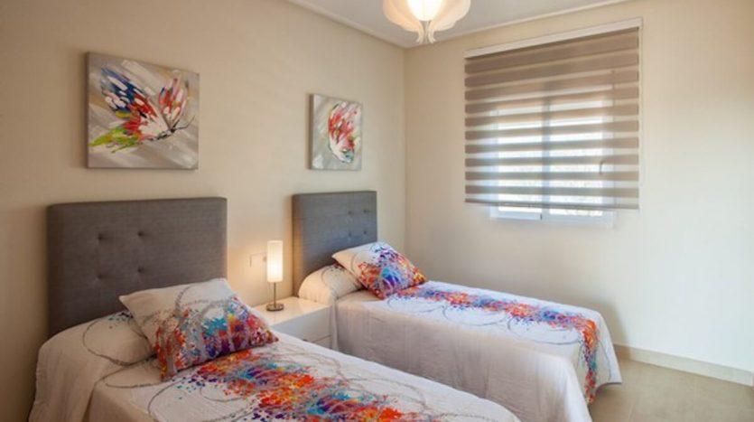 Dormitorio Apartamentos en la Playa de Las Higuericas Torre de La Horadada