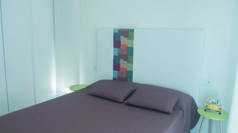 Dormitorio. Villas de Lujo Santiago de la Ribera Murcia