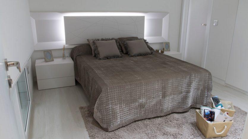 Vista Dormitorio. Villas de Lujo Santiago de la Ribera Murcia