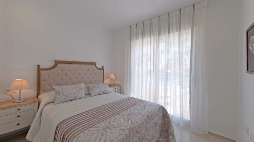 Dormitorio Puerto Marina Apartamentos Los Narejos