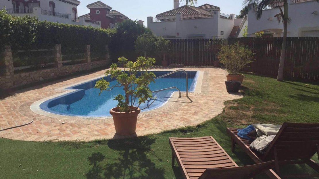 Jardin - Villa Planta Baja 3 dormitorios Mar Menor Golf