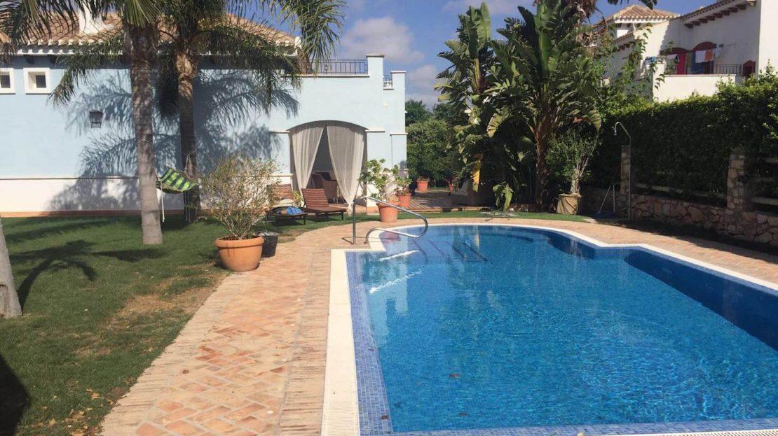 Piscina - Villa Planta Baja 3 dormitorios Mar Menor Golf