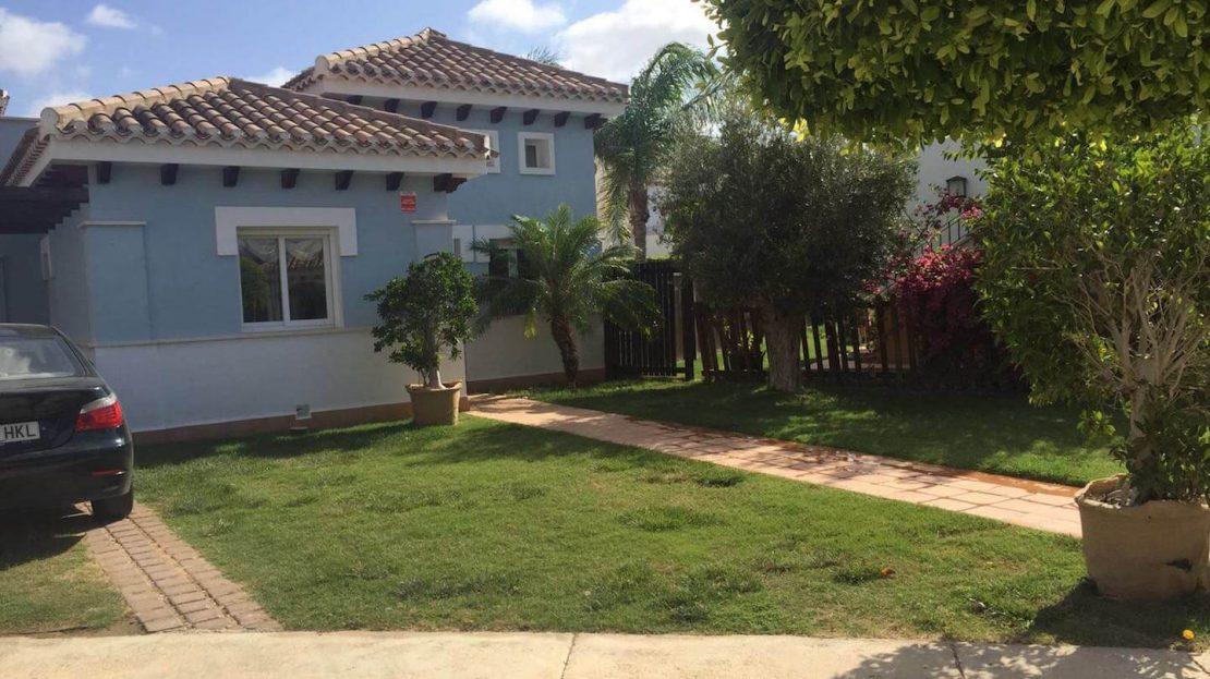 Frontal Villa Planta Baja 3 dormitorios Mar Menor Golf