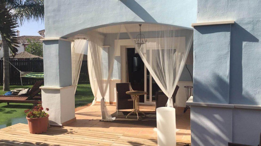 Porche Villa Planta Baja 3 dormitorios Mar Menor Golf