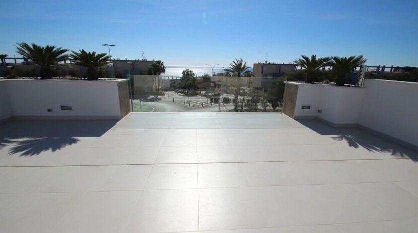 Vistas Terraza de Chalet Nuevo en Dehesa de Campoamor
