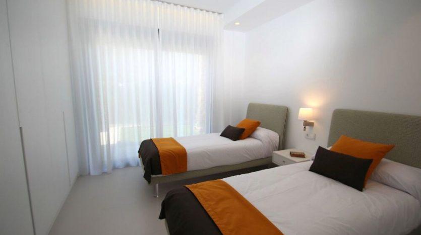 Dormitorio J de Chalet Nuevo en Dehesa de Campoamor