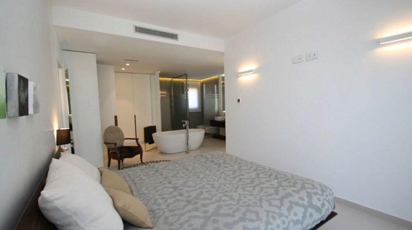 Dormitorio Principal de Chalet Nuevo en Dehesa de Campoamor