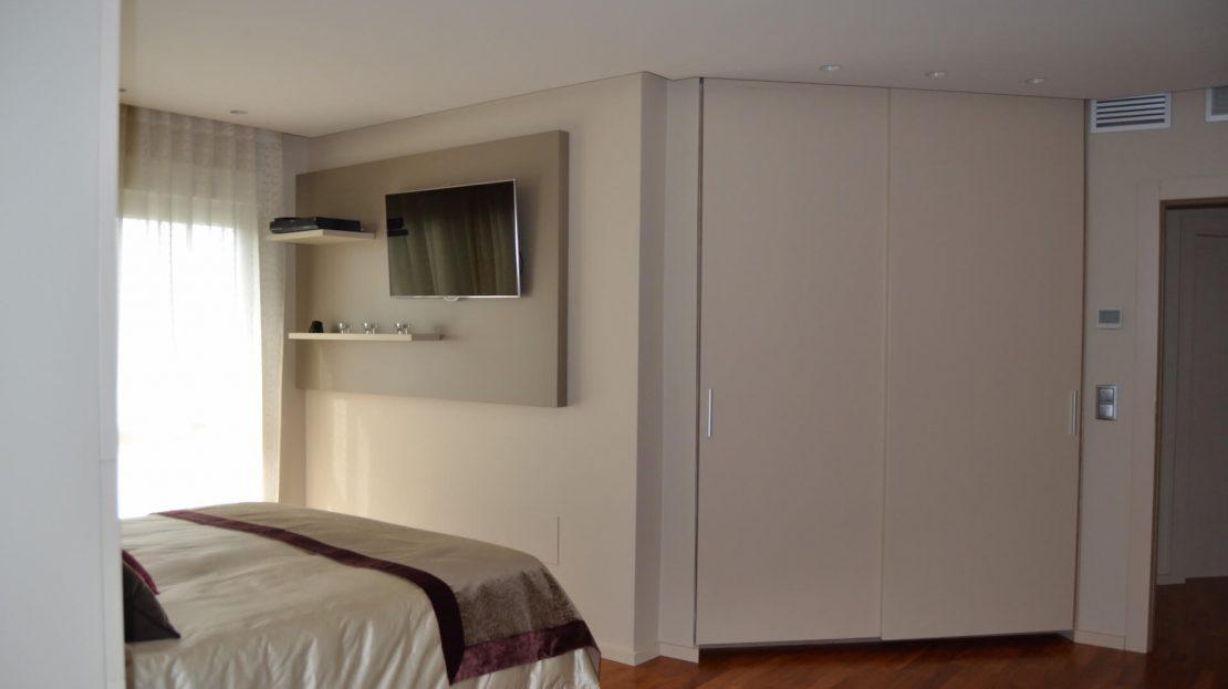 Vista dormitorio Principal Villa 5 Dormitorios Mar Menor Golf Torre Pacheco