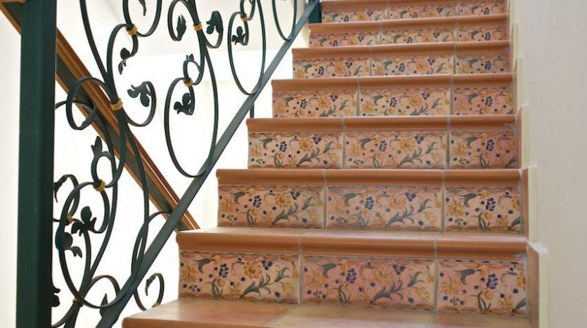 Escaleras Chalet La Vaguada Cartagena