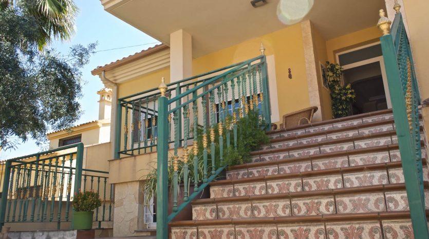Entrada Chalet La Vaguada Cartagena